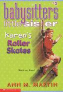 Baby-sitters Little Sister 02 Karens Roller Skates 2001 reprint cover