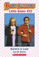 Baby-sitters Little Sister 15 Karens in Love ebook cover