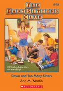 BSC 98 Dawn Too Many Sitters ebook cover