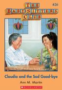 Baby-Sitters Club 26 Claudia and the Sad Good-bye cover