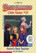 Baby-sitters Little Sister 21 Karens New Teacher cover 1stprint