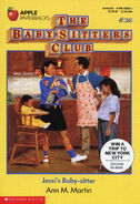 Baby-sitters Club 36 Jessis Baby-sitter another original cover