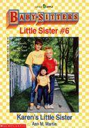 Baby-sitters Little Sister 6 Karens Little Sister cover
