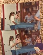 Ann M Martin at 90s book signing