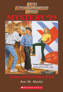 BSC Mystery 29 Stacey and Fashion Victim ebook cover