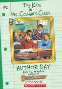 Kids Ms. Colmans Class 02 Author Day ebook cover