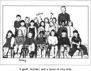 Stacey kindergarten class
