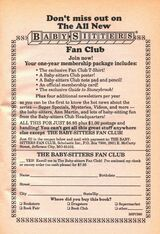 All New BSC fan club bookad from 71 orig 1994