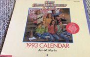 1993 calendar front