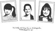Claudia Kristy Mary Anne kindergarten photos