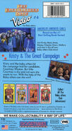 4 Kristy Great Campaign BSC VHS back original