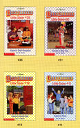 Baby-sitters Little Sister 51 Karens Big Top trading cards front