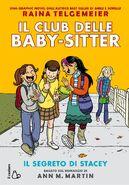 Il Club delle baby-sitter Il segreto di Stacey Graphix Italian cover