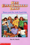 Dawn and Junk Food Kids Baby-sitters Club mini book cover