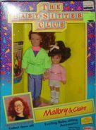 Mallory Claire 1991 Remco dolls box front