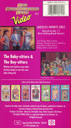 10 The Baby-sitters and The Boy-sitters BSC VHS 10 back GoodTimes