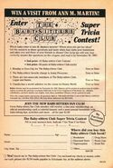 BSC Super Trivia contest from 29 orig 1stpr 1989