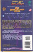 Baby-sitters Club 88 Farewell Dawn Book on Tape back