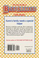 Baby-sitters Little Sister 105 Karens Nanny back cover