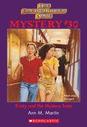 BSC Mystery 30 Kristy Mystery Train ebook cover