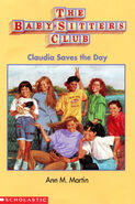 Claudia Saves the Day Baby sitters Club mini book cover