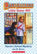 Baby-sitters Little Sister 57 Karens School Mystery ebook cover