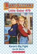 Baby-sitters Little Sister 79 Karens Big Fight ebook cover