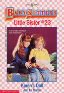Baby-sitters Little Sister 23 Karens Doll cover