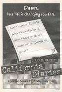 Dawn Diary Two California Diaries 7 bookad from CD6