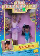 Jessi Becca 1991 Remco dolls box front