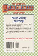 Baby-sitters Little Sister 02 Karens Roller Skates back cover 44259