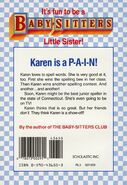 Baby-sitters Little Sister 11 Karens Prize back cover