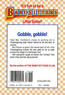 Baby-sitters Little Sister 13 Karen's Surprise back cover