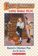 Baby-sitters Little Sister 114 Karens Chicken Pox ebook cover