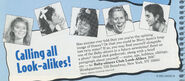 BSC Look-Alikes contest from spring 1993 Fan Club newsletter