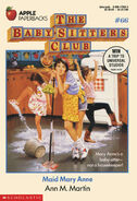 Baby-sitters Club 66 Maid Mary Anne original cover 1stprint