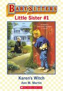 Baby-sitters Little Sister 1 Karens Witch ebook cover