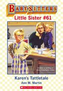 Baby-sitters Little Sister 61 Karens Tattletale ebook cover