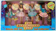 Baby-sitters Club dolls Deluxe Gift Set doll collection Remco box front