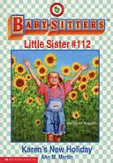 Baby-sitters Little Sister 112 Karens New Holiday cover
