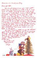 Secret Santa Card 20 Eliza to Jennifer inside