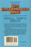 Baby-sitters Club 33 Claudia Great Search original back cover