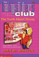 Baby-sitters Club 3 The Truth About Stacey 2002 reprint cover
