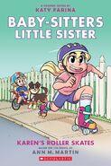 02 Karens Roller Skates graphix graphic novel cover