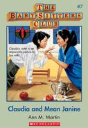 Baby-sitters Club 7 Claudia and Mean Janine cover stock image