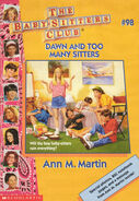 Baby-sitters Club 98 Dawn and Too Many Sitters cover