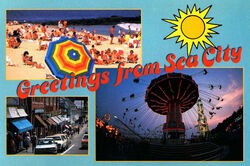 Sea City postcard from BSC Chain Letter