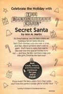 Secret Santa bookad from 78 orig 2ndpr 1994