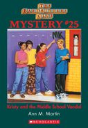 BSC Mystery 25 Kristy Middle School Vandal ebook cover