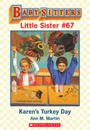 Baby-sitters Little Sister 67 Karens Turkey Day ebook cover